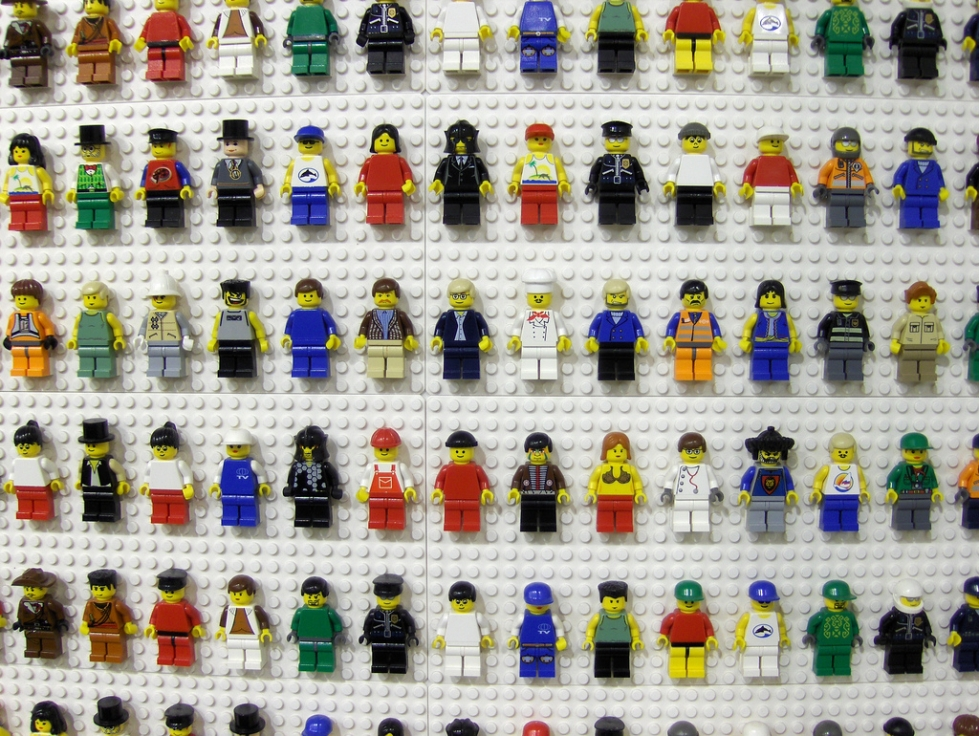 Lego puppets