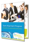 Team alignment brochure showing how to develop strong teams.