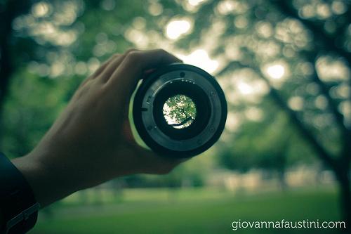 Leading Change Camera Lens Focus