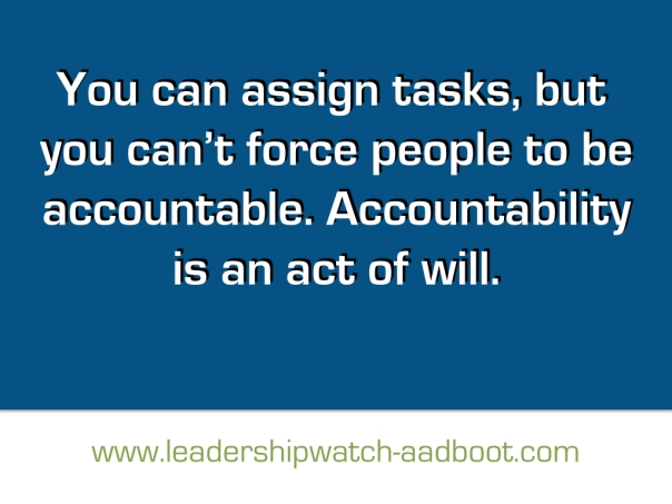 LeadershipWatch Quote on blue background