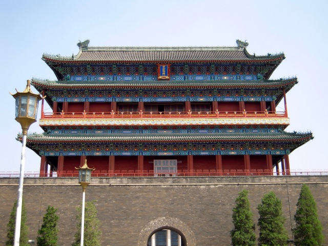 Chinese Gate at the Tiananmen square in Beijing