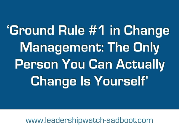 LeadershipWatch Leadership Quote